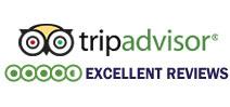 TripAdvisor Excellent Reviews