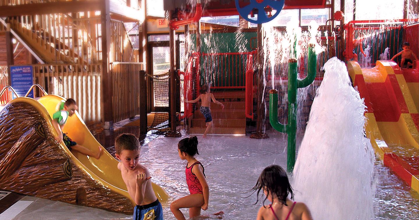 Big Splash Indoor Waterpark Rocking Horse Ranch Resort