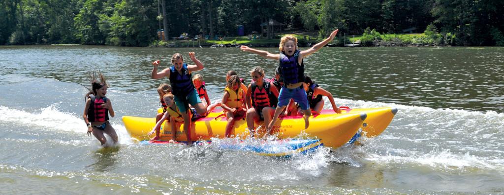 School Class Trips Banana Boats