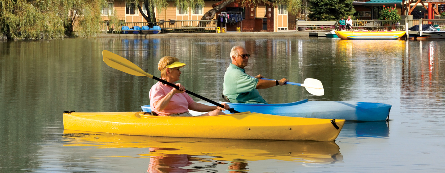 Senior Trips Kayaks