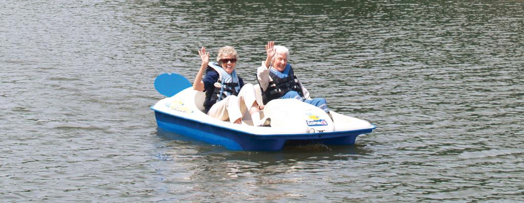 Senior Trips Paddle Boats