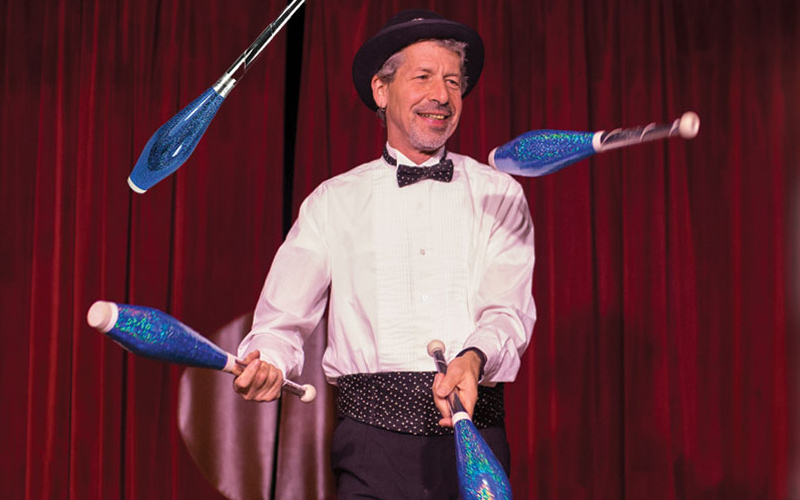 Comedy & Juggling Shows