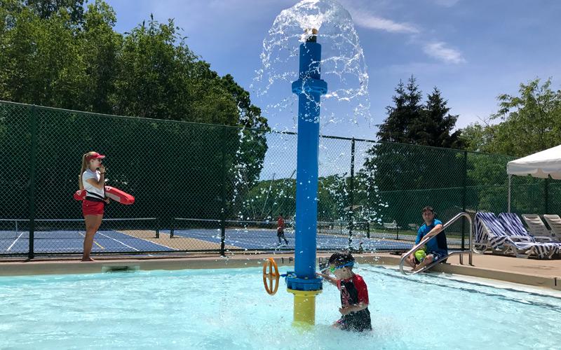 Interactive Spray Fountains