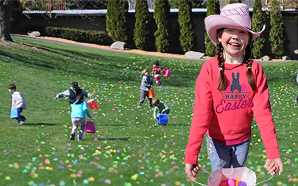 THE LARGEST EASTER EGG HUNT IN THE HUDSON VALLEY