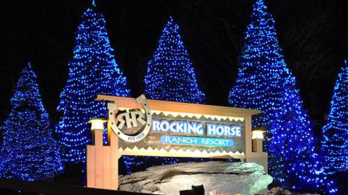 Our Famous Blue Lights