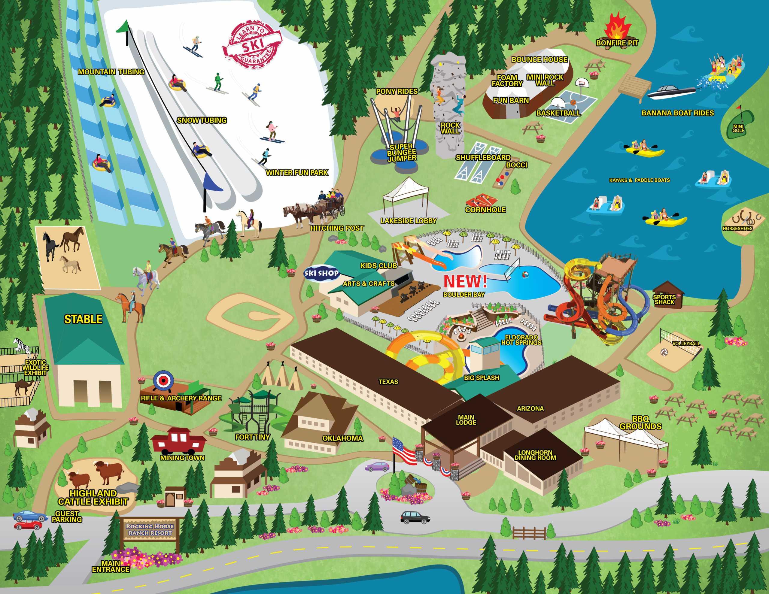 Property Map Rocking Horse Ranch Resort